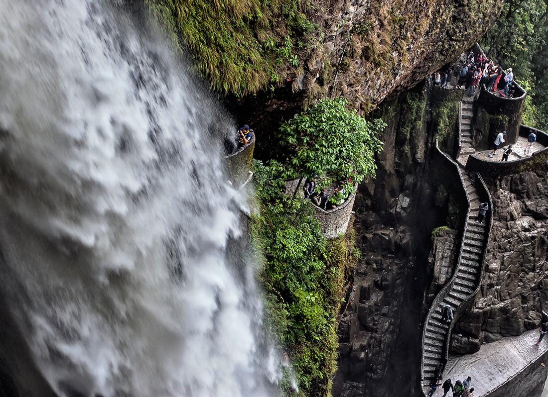 Водопад Котёл дьявола