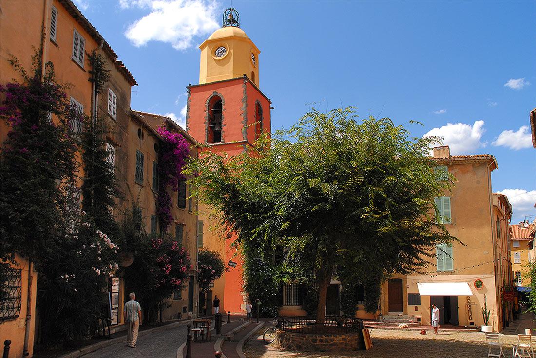 Старый город в Сен-Тропе