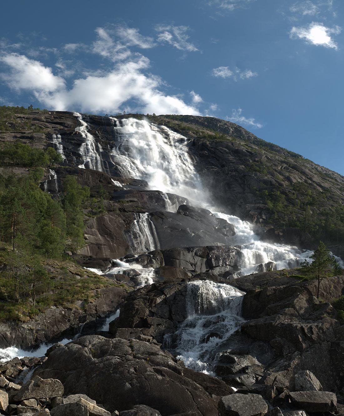 самые живописные водопады Европы
