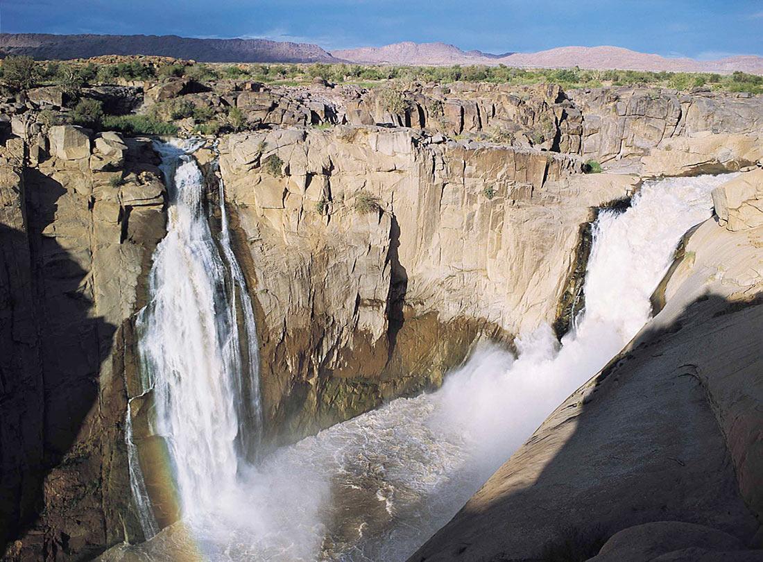 Водопад Ауграбис