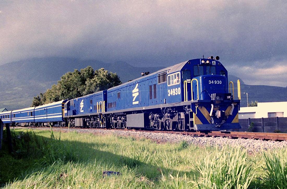 Синий поезд