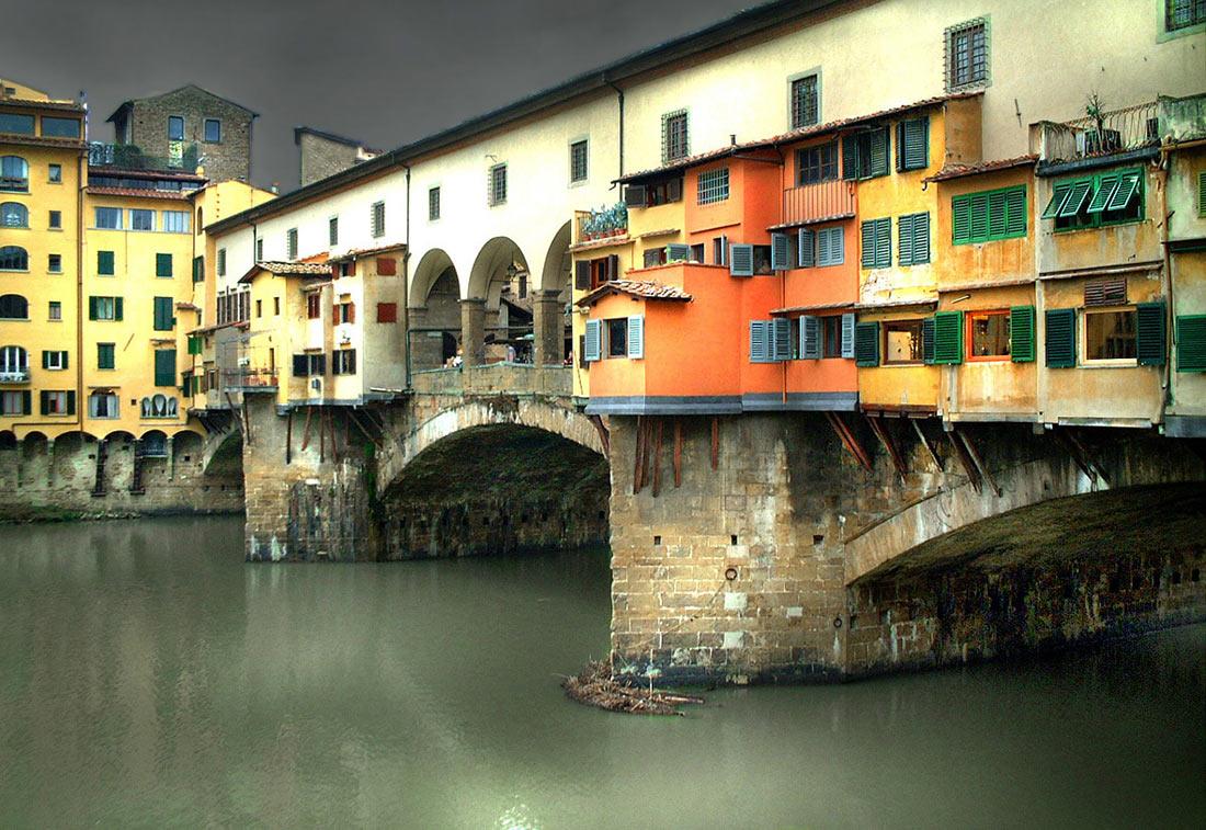 Жилые мосты