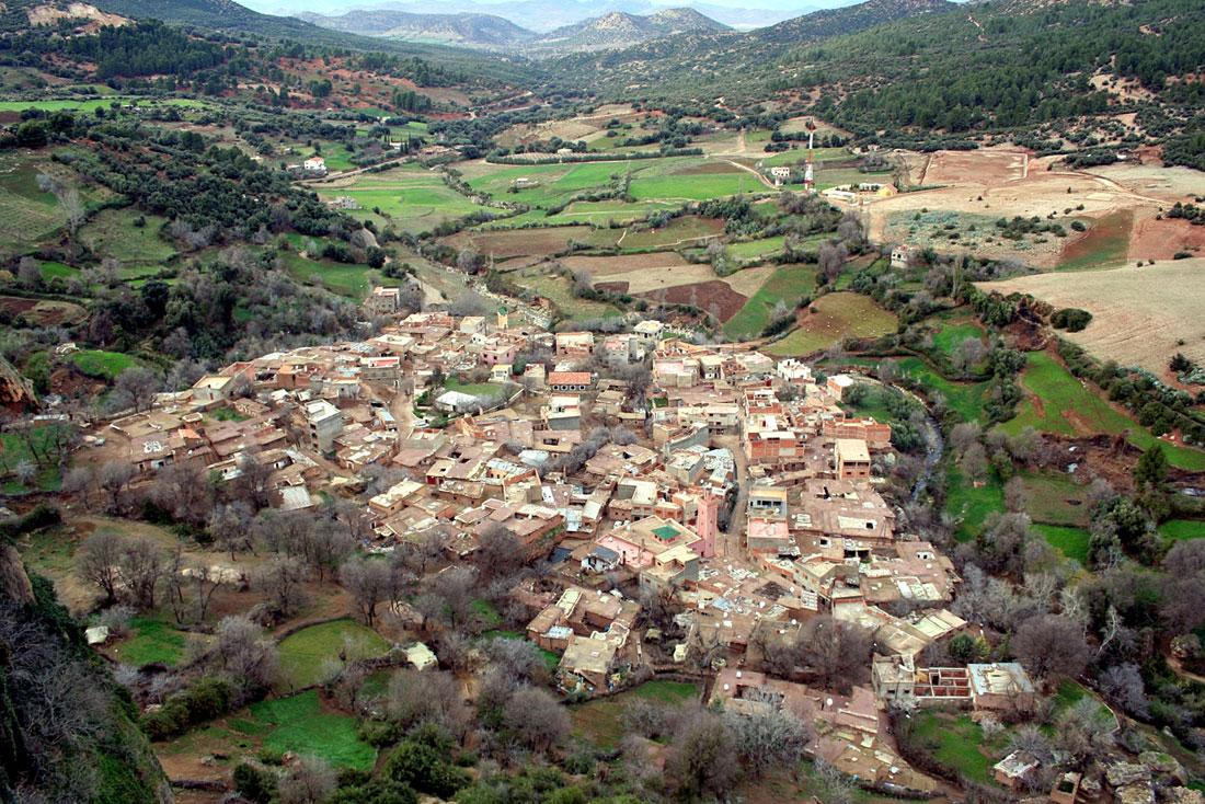 Ифран, Марокко