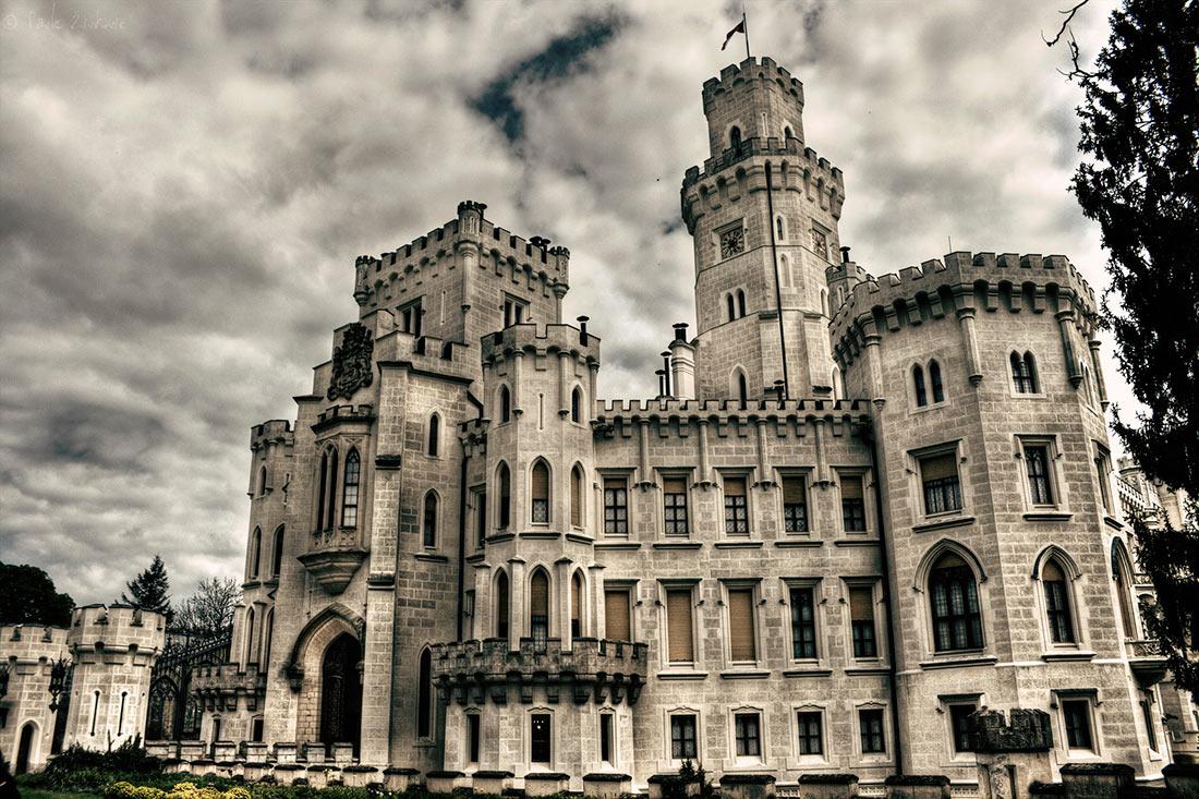 замок Глубока над Влтавой