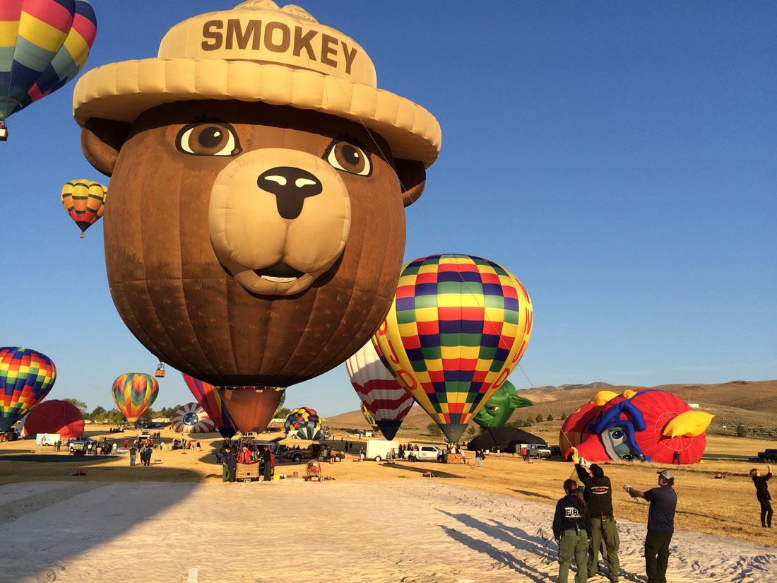 Международный фестиваль воздушных шаров в Альбукерке
