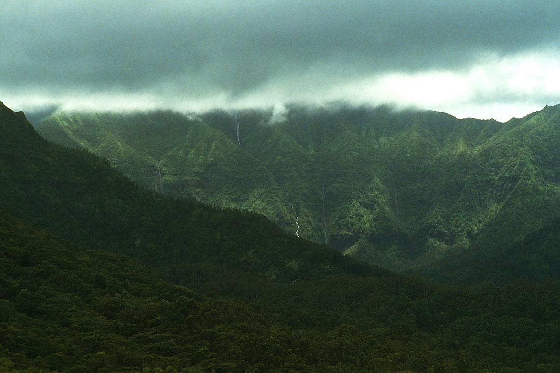 Гора Ваиалеале, остров Кауаи, Гавайи