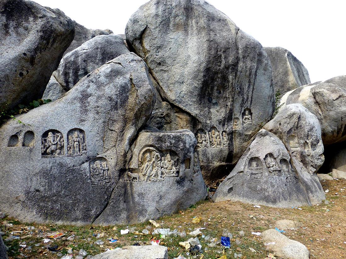 барабарские пещеры