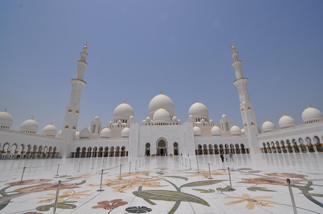 мечеть шейха Зайда