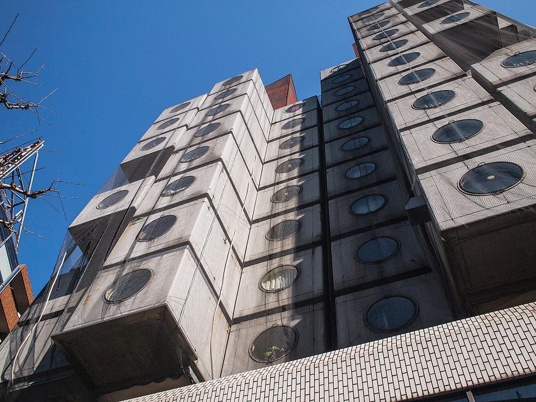 капсульная башня накагин