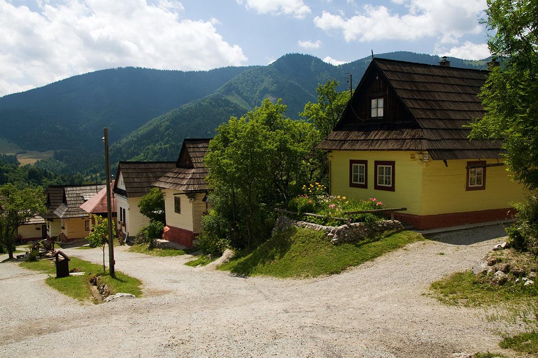 деревня Влколинец