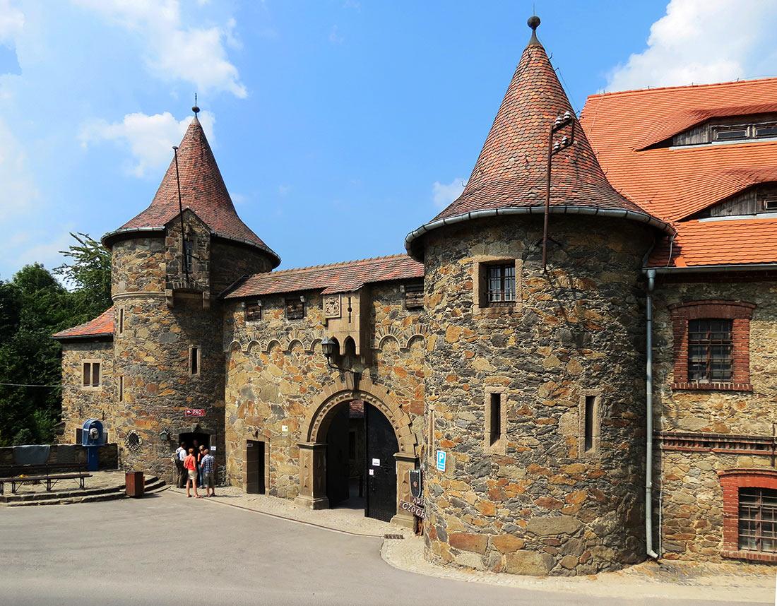 Замок Чоха