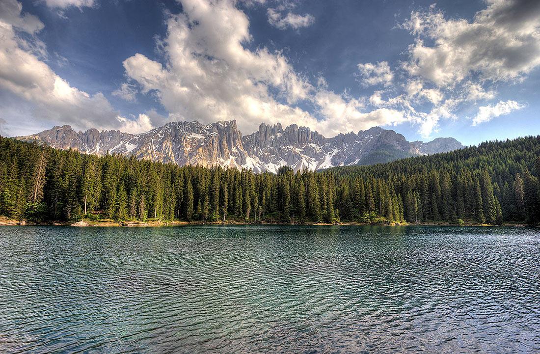озеро Карецца