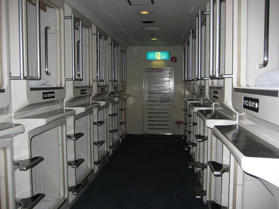 Капсульный отель Space Capsule Inns