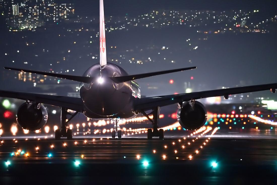 ночной перелет