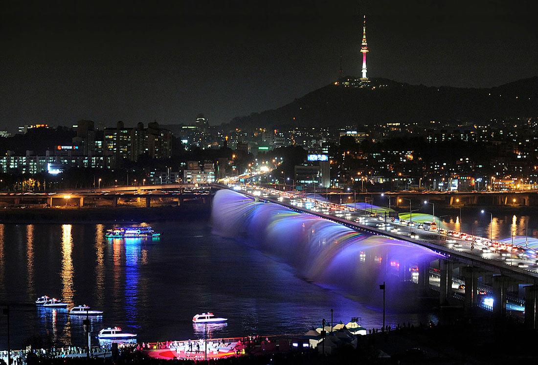 Мост Фонтан радуги