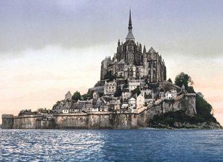прилив века Мон-Сен-Мишель