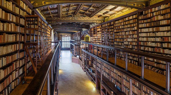 Бодлианская библиотека (Bodleian Library)