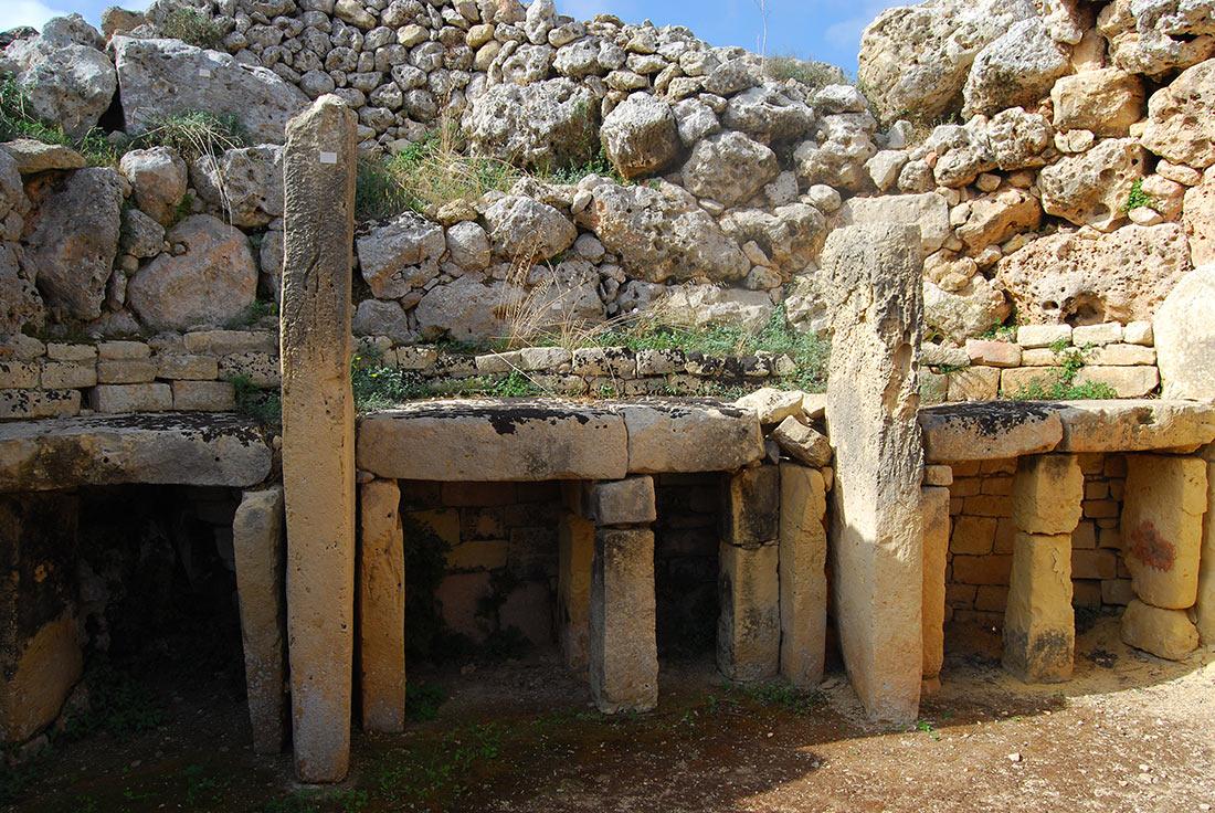 Мегалитические храмы на Мальте