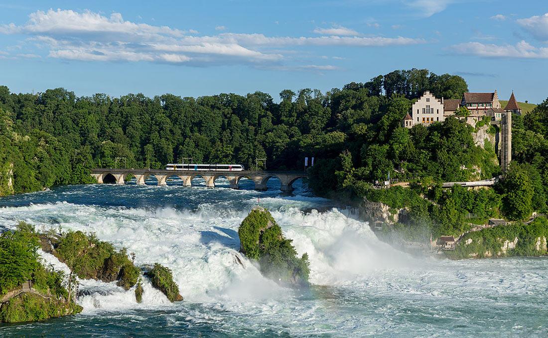 Рейнский водопад картинки