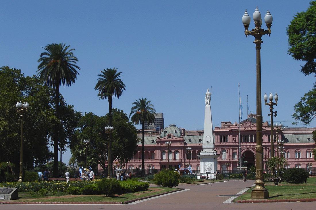 Площадь Мая в Буэнос-Айресе