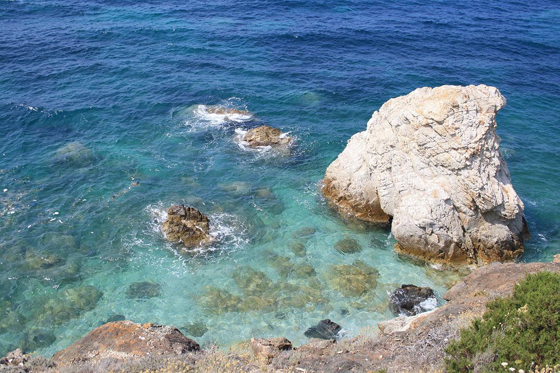 Пляж Самсон, остров Эльба