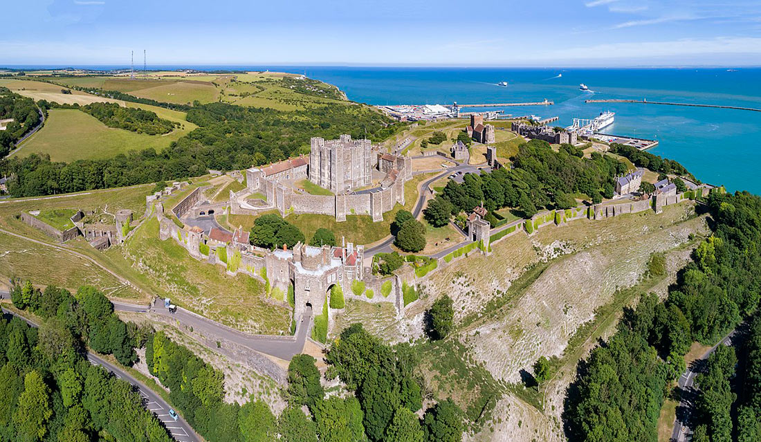 Замок и крепость Дувр