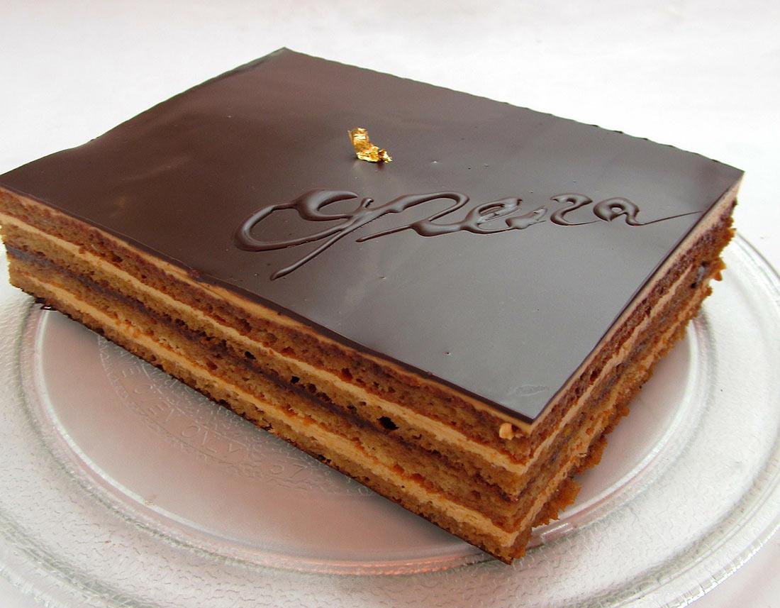 Бисквитный десерт «Опера»