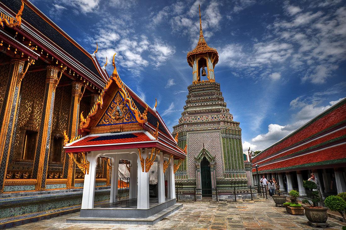 большой дворец в Бангкоке