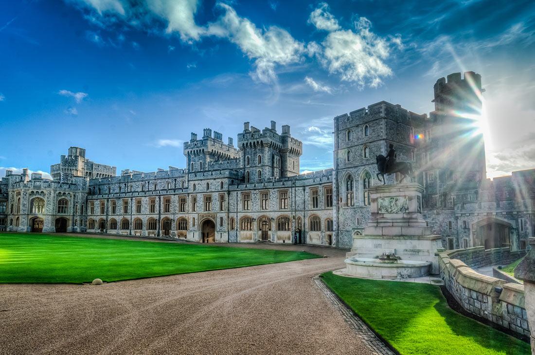 Картинки королевские замки есть в лондоне