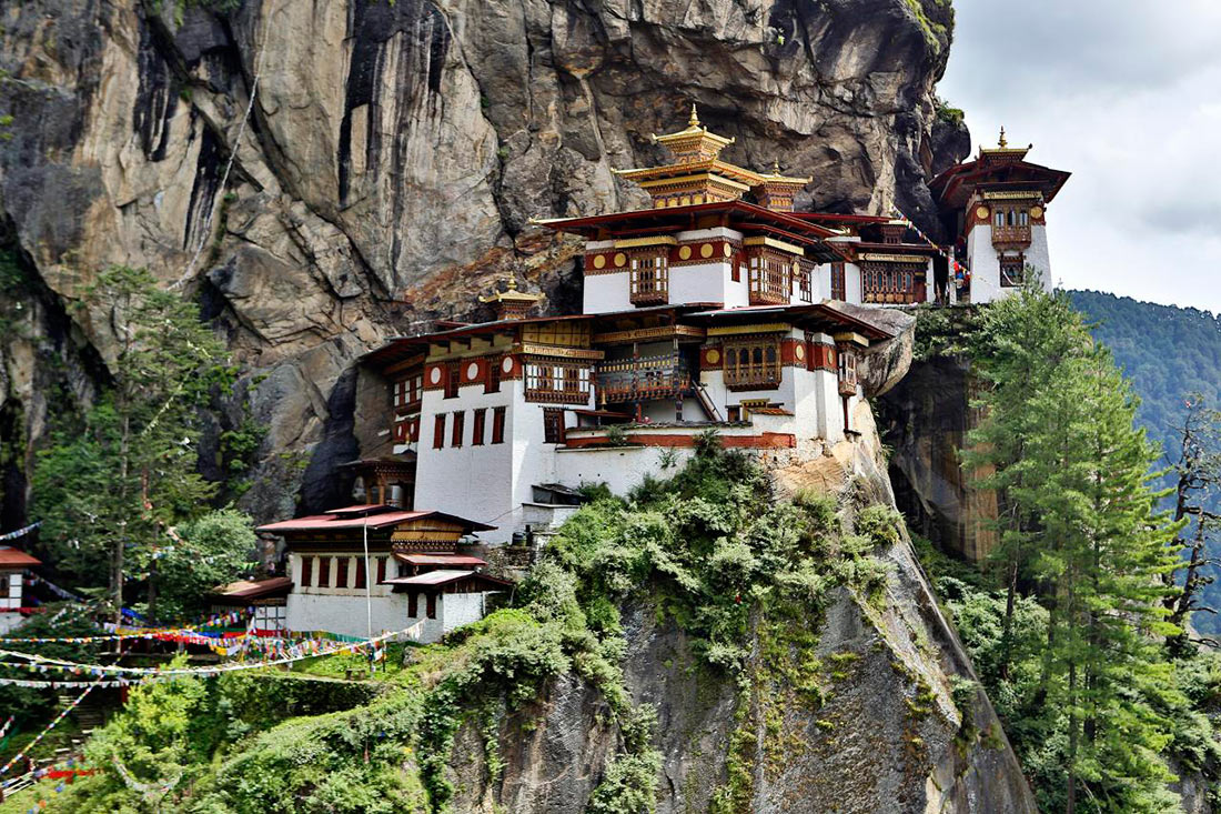 Монастырь Гнездо тигрицы, Бутан