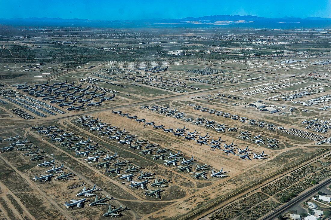 Кладбище самолетов, Аризона, США