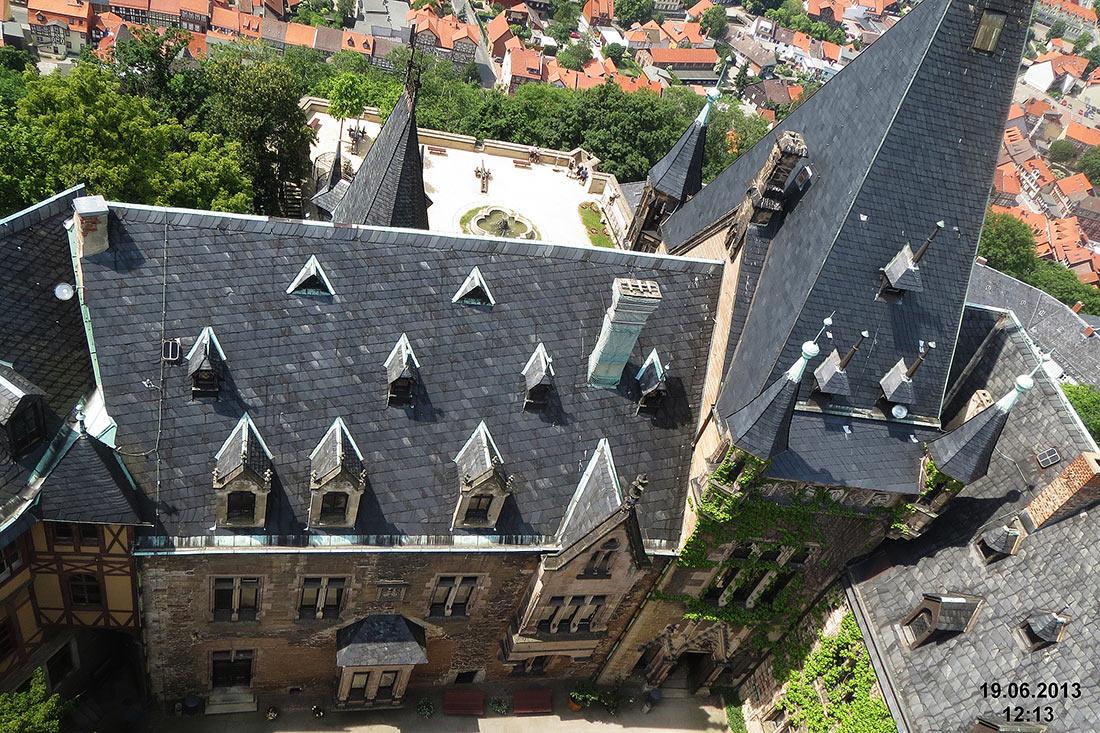 Замок Вернигероде