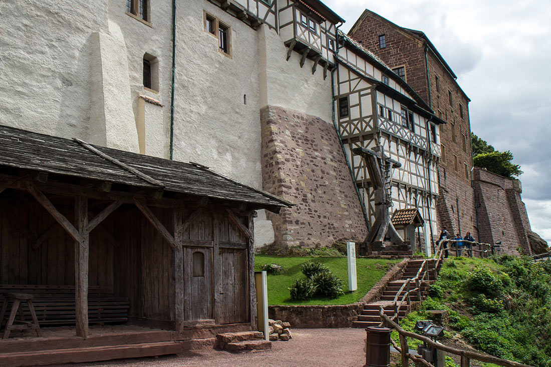 Замок Вартбург