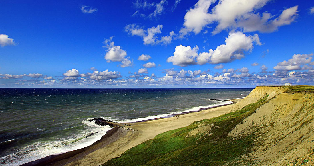 датское побережье