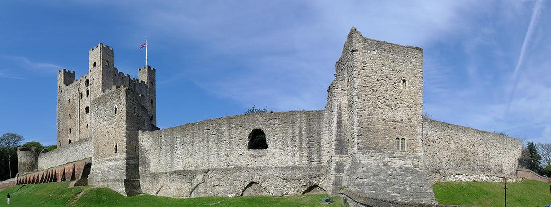 Рочестерский замок, графство Кент, Юго-Восточная Англия