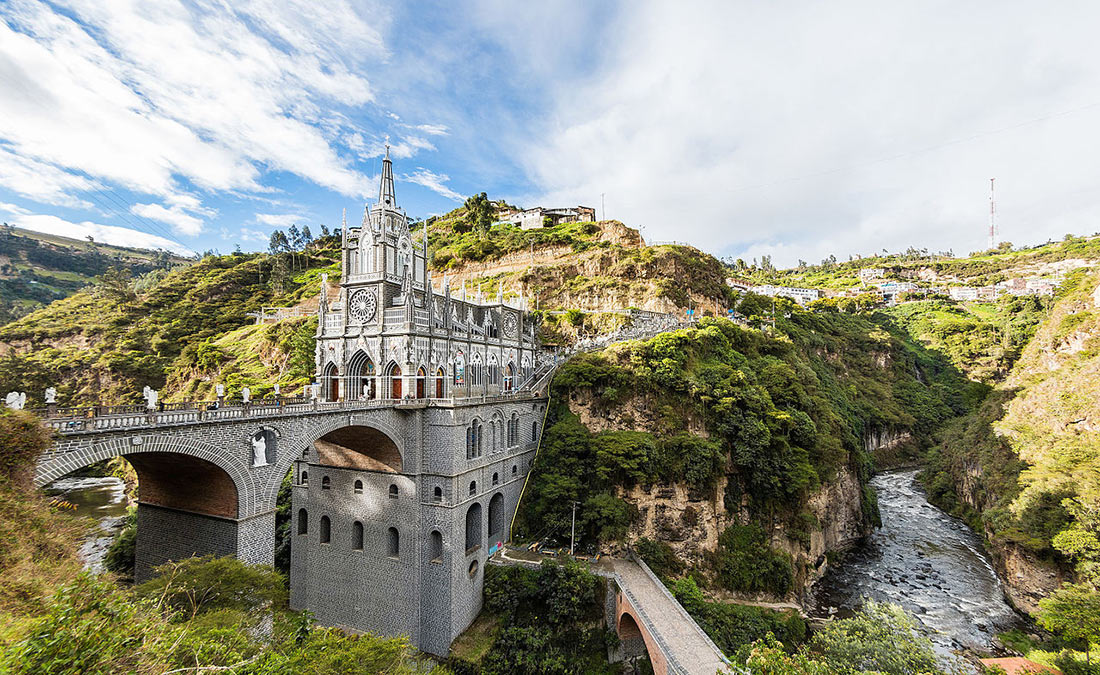 Церковь на мосту: базилика Лас-Лахас