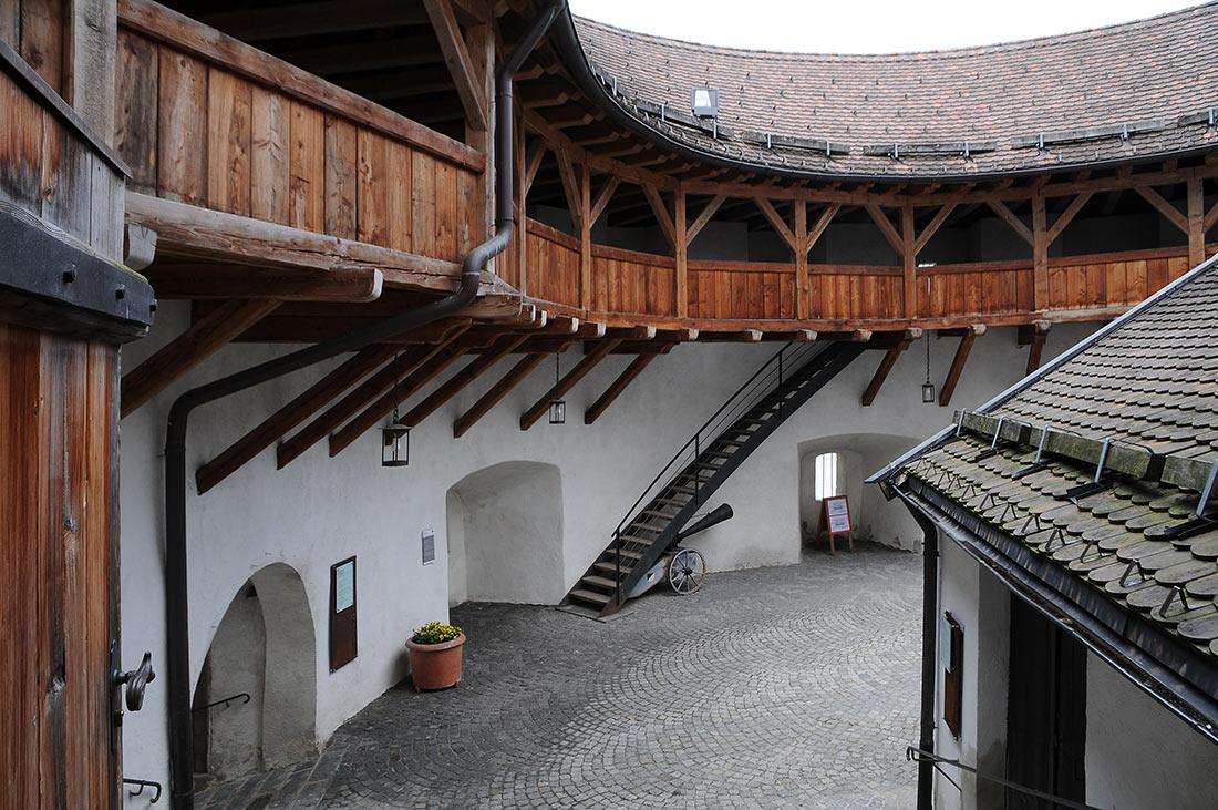 Крепость Фестунг Куфштайн