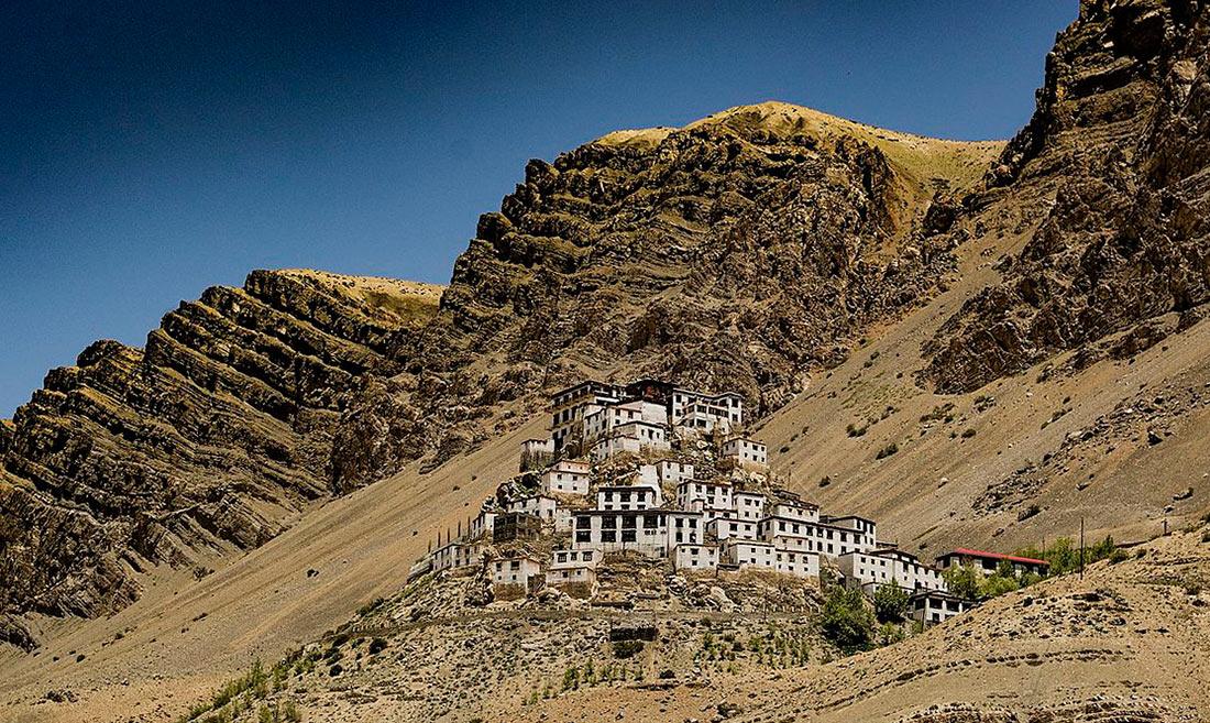 монастырь Ки Гомпа в долине Спити