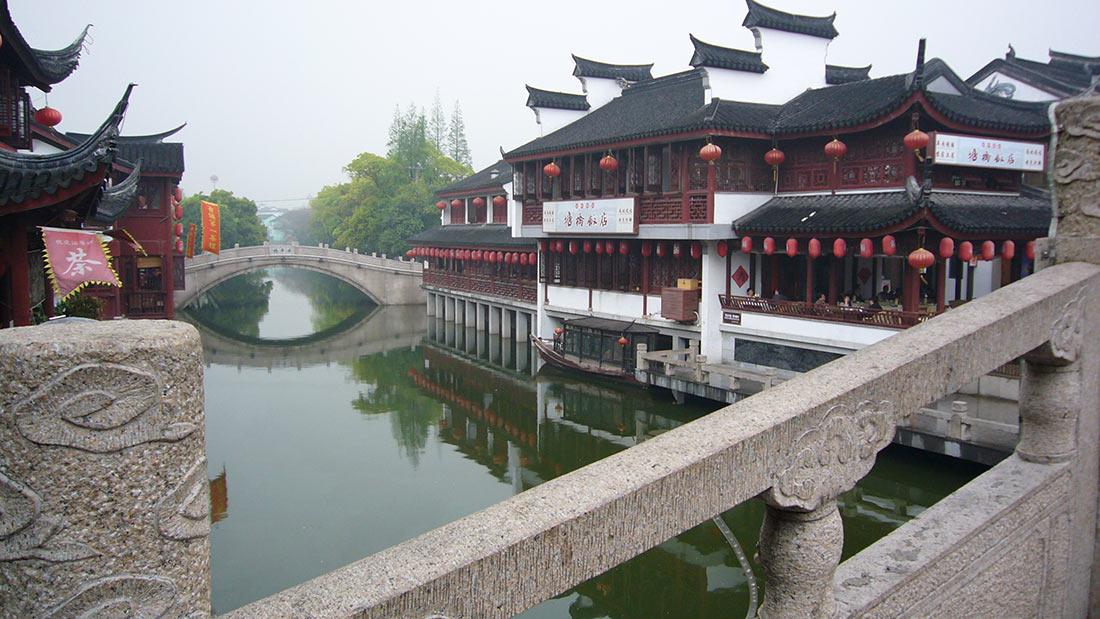 Старый город Шанхая