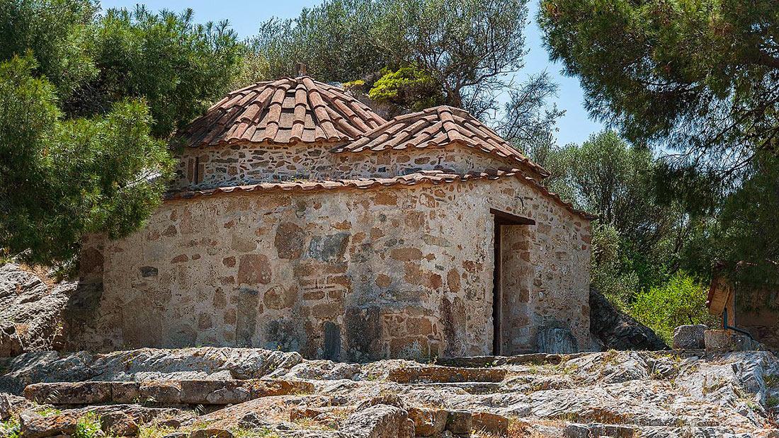 Сельская местность вокруг Афин