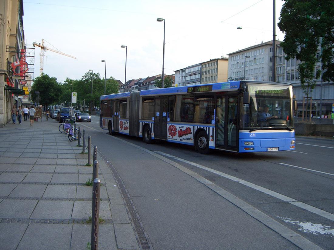 автобус в Германии