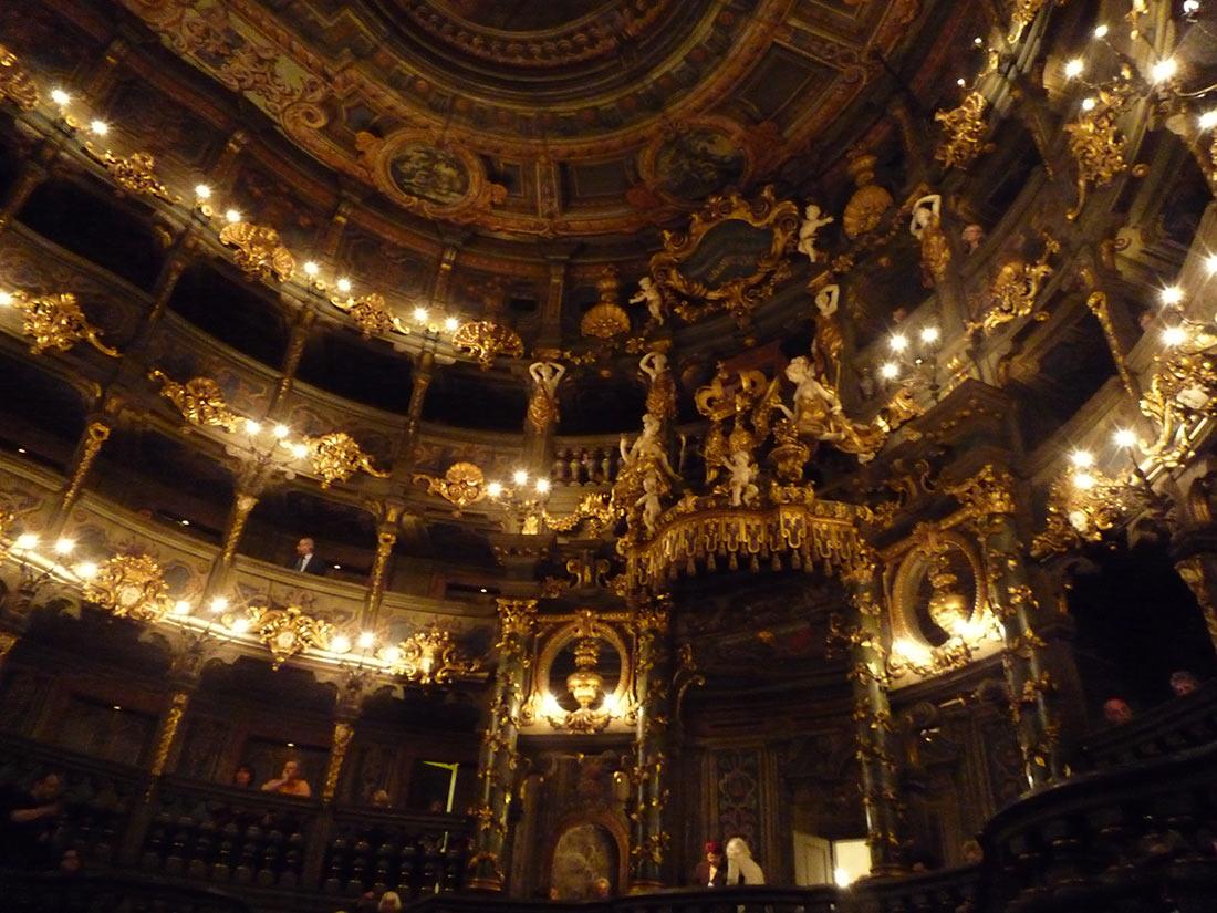 Маркграфский оперный театр в Байройте