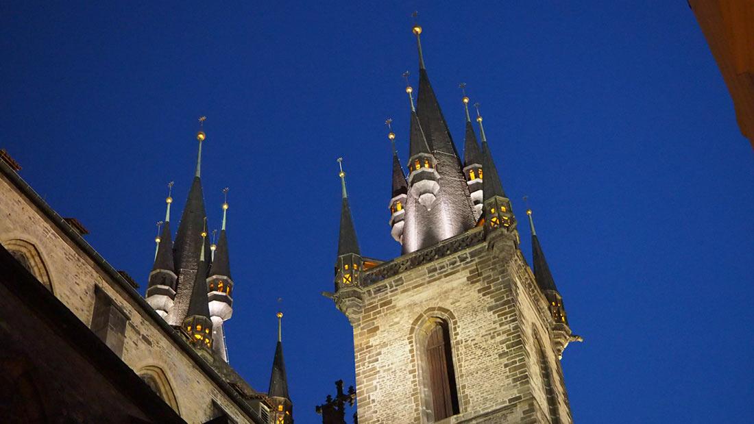 церковь Божьей Матери в Праге