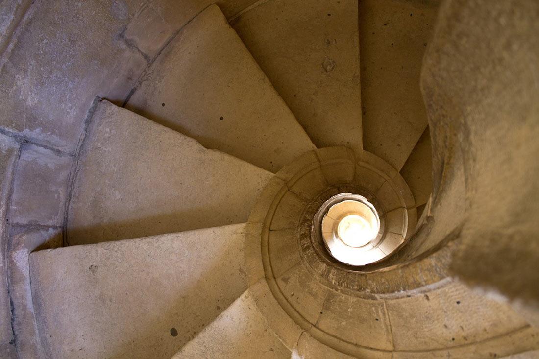 Лестницы в замке