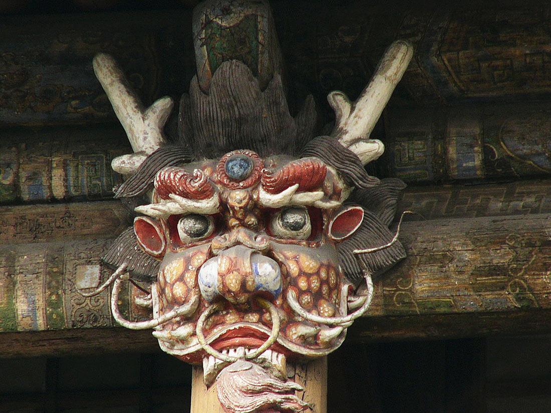 висячий монастырь Сюанькун-сы