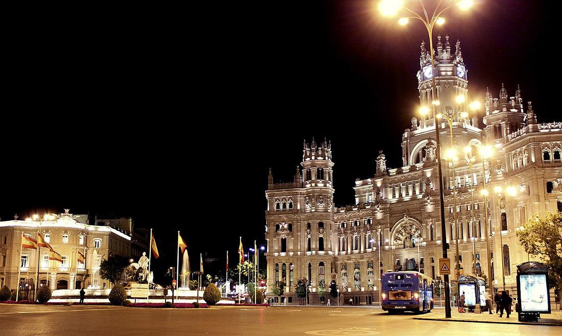 ночь в Испании