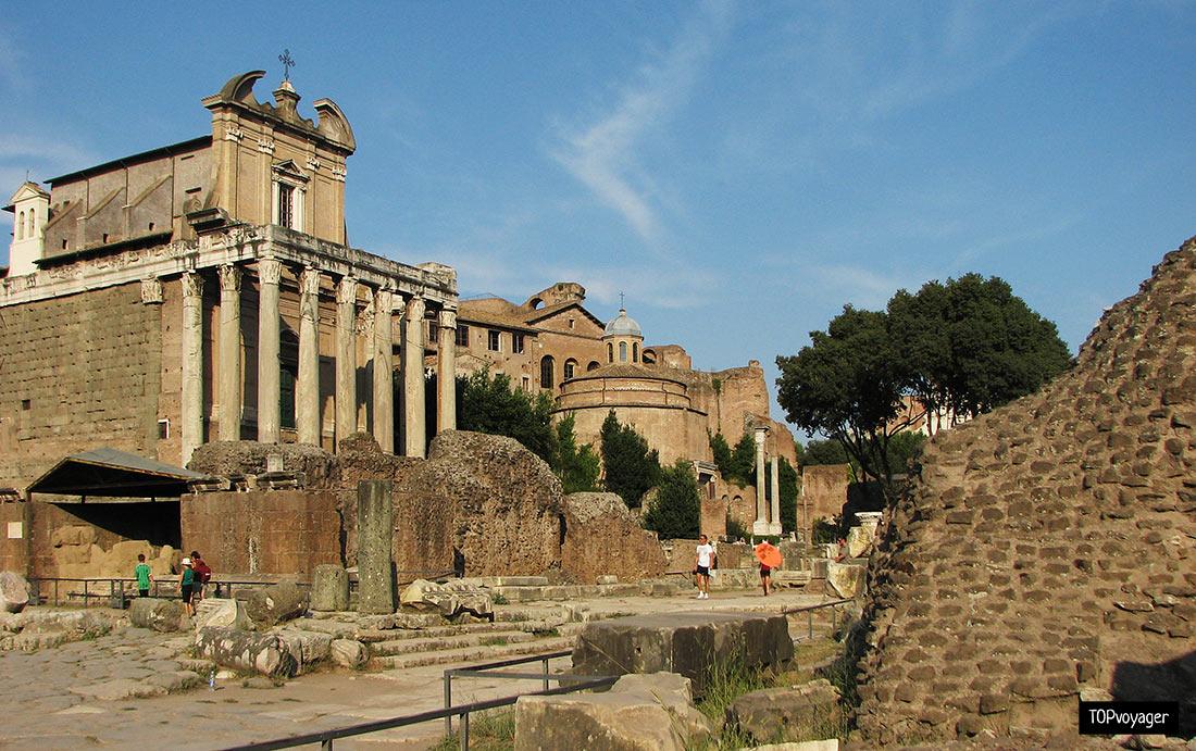 постройки Римской империи