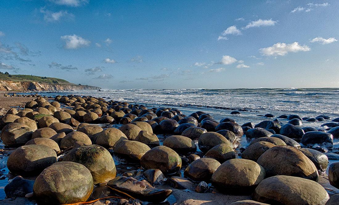 Пляж шаров для боулинга