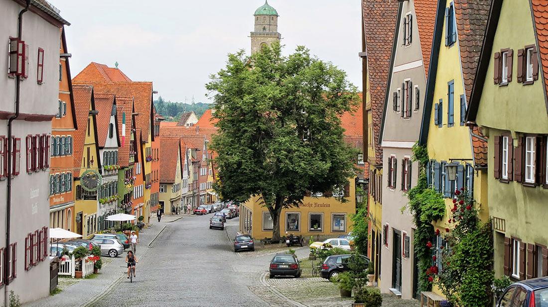 Романтическая дорога в Баварии