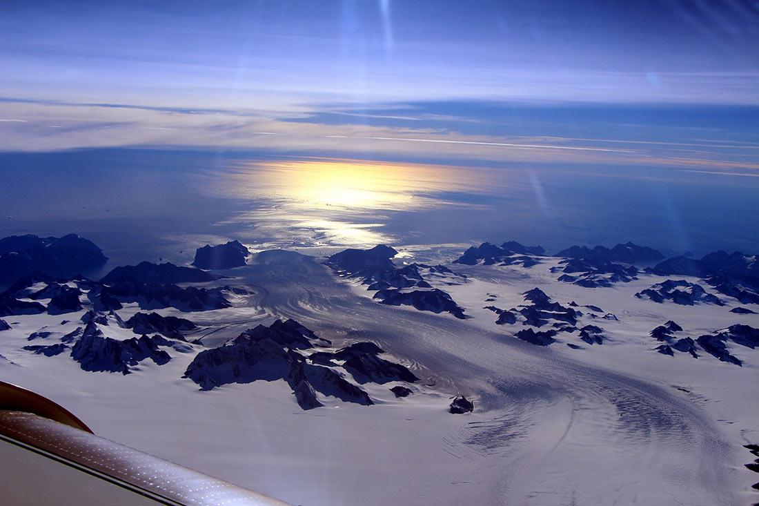 Гренландский ледниковый щит